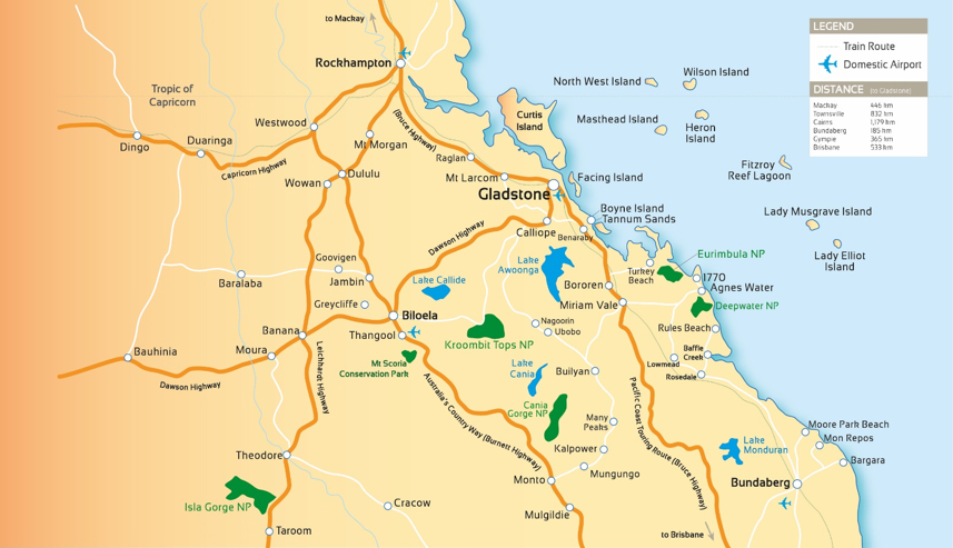 Where is Gladstone Region GAPDL